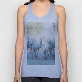 Camargue Horses ... Unisex Tank Top