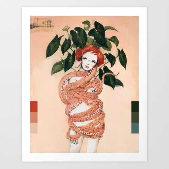 Abrazo Art Print