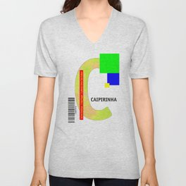 "Cocktail ""C"" - Caipirinha Unisex V-Neck"