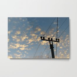 Transmission Metal Print