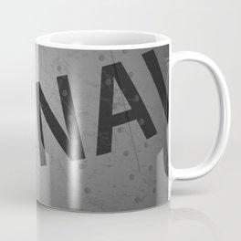 U.S. Military Warbird Naval Aircraft Skin Coffee Mug
