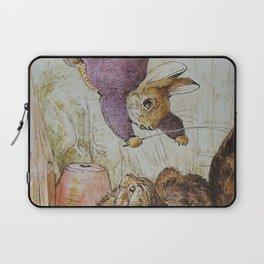 Bunny vs Kitty Laptop Sleeve