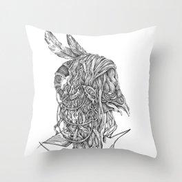 skeksis Throw Pillow