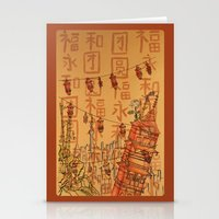 china Stationery Cards featuring China  by Nogah