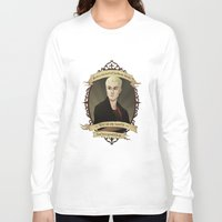 buffy the vampire slayer Long Sleeve T-shirts featuring Spike - Buffy the Vampire Slayer/Angel by muin+staers