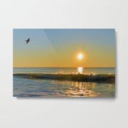 Shimmering Sunrise Metal Print