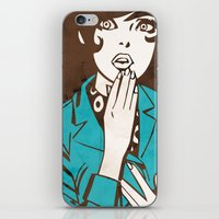60s iPhone & iPod Skins featuring 60s Girl by Ed Pires