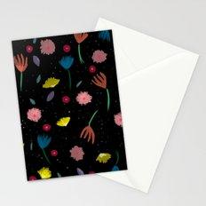Night floresta pattern Stationery Cards