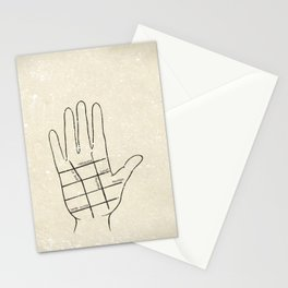 Hollywood Palm Reading Stationery Cards