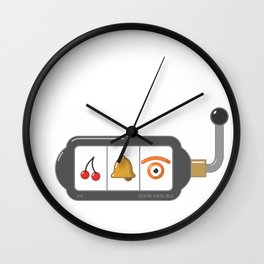 casino[jo] Wall Clock