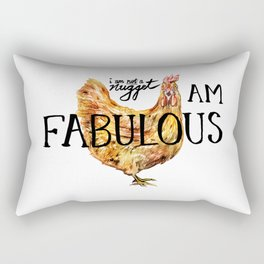 I AM FABULOUS Rectangular Pillow