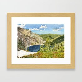 THE HIGH COUNTRY Framed Art Print