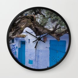 Ancient Olive Branch Wall Clock