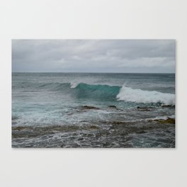 Crashing Wave, Turtle Bay Canvas Print