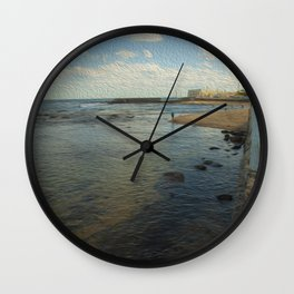 The Tide is High Wall Clock