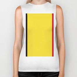 Belgium flag emblem Biker Tank