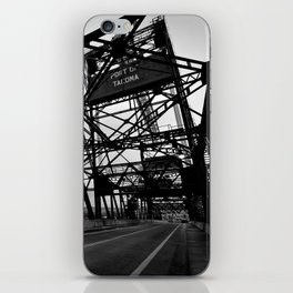 Port of Tacoma 11th St. Bridge iPhone Skin