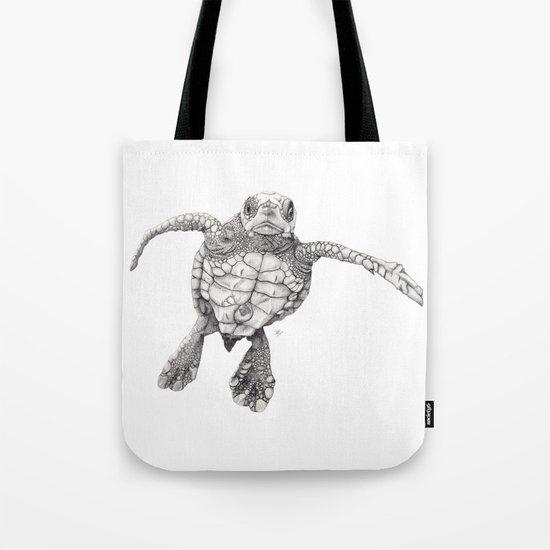 Chelonioidea (the turtle) Tote Bag