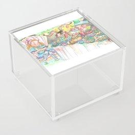 Alice's Mad Tea Party Acrylic Box