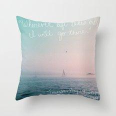 May 29 Throw Pillow