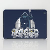 minions iPad Cases featuring Stormtrooper Minions by Hugo Martin