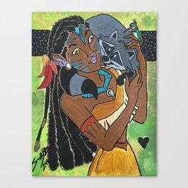 Pocahontas Avatar Canvas Print