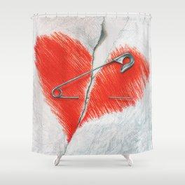 Unbroken by Lars Furtwaengler   Colored Pencil   2016 Shower Curtain