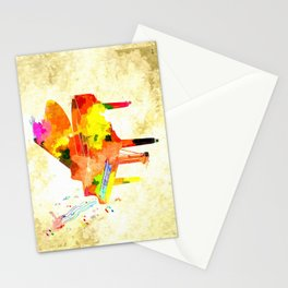 Grand Piano Stationery Cards
