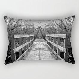 Mirrored Bridge Rectangular Pillow