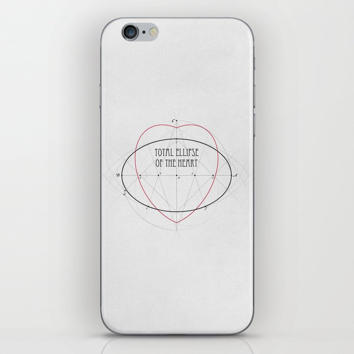 Total Ellipse of the Heart iPhone Skin