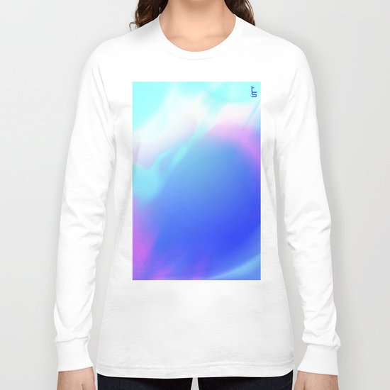 Pastel Vortex Long Sleeve T-shirt