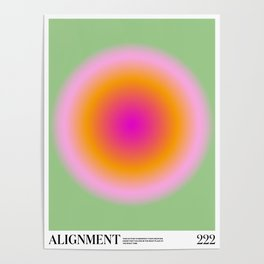 Angel Numbers: Alignment Poster