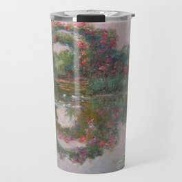 FLOWERING ARCHES IN GIVERNY - MONET  Travel Mug