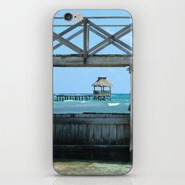The Framed Pier iPhone Skin