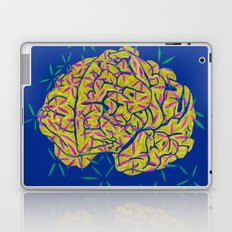 Floral Brain Laptop & iPad Skin
