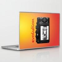 evolution Laptop & iPad Skins featuring Evolution by Mike van der Hoorn
