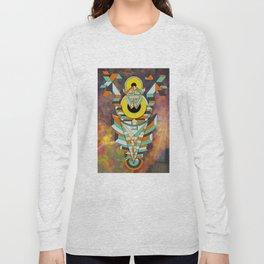 Space Robot Long Sleeve T-shirt