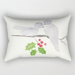 Turtle Dove Love Rectangular Pillow