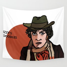 Tom Baker Wall Tapestry
