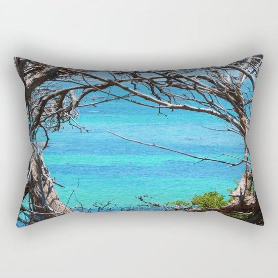 Simons Window Rectangular Pillow