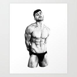 Keegan - NOODDOOD Art Print