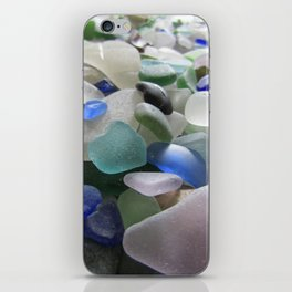 Sea Glass Assortment 6 iPhone Skin