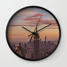 Top of The Rock I Wall Clock