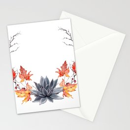 WATERCOLOR BOO Stationery Cards