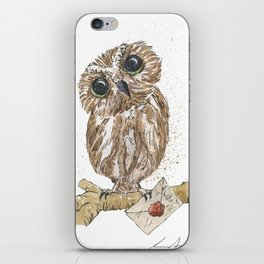 Owl Letter For You iPhone Skin