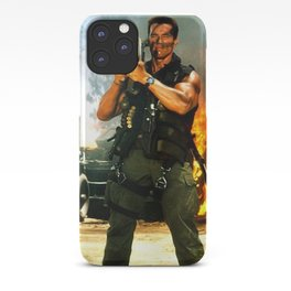 Arnold Rocket Launcher Iphone case schwarzenegger iPhone Case