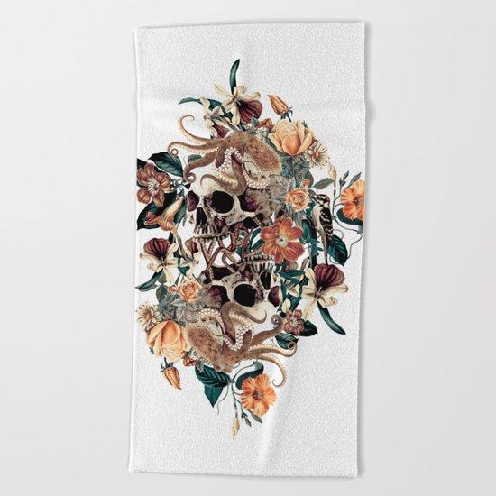Fantasy Skull Beach Towel