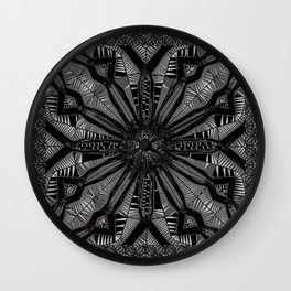 Licorice Lace Wall Clock