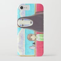 spirited away iPhone & iPod Cases featuring Spirited Away by Janice Wong