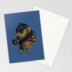 Sherlock // owl Stationery Cards